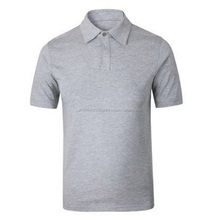 Custom With Embroidered Pima Cotton Sport Fashion Grey Polo Shirt