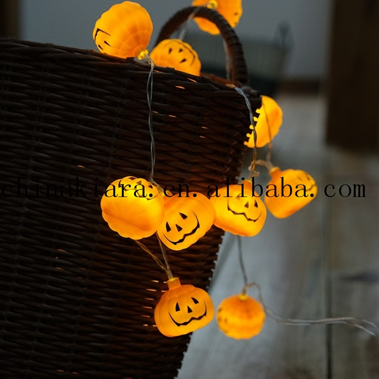 Top Sale Cold White Halloween Eyeball String Lights