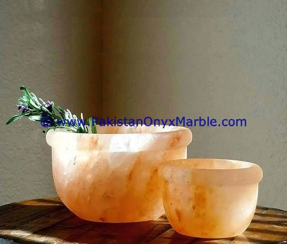 KITCHENWARE 100% NATURAL HIMALAYAN SALT BOWLS & DISHES HANDCRAFTED