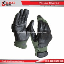 Wholesale Prices High Quality Leather Police Gloves,All Weather Protection/ Nomex Police Gloves With Leather Palm