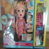 NEW Baby Alive Super Snacks My Super Snackin' Baby Sara Blonde