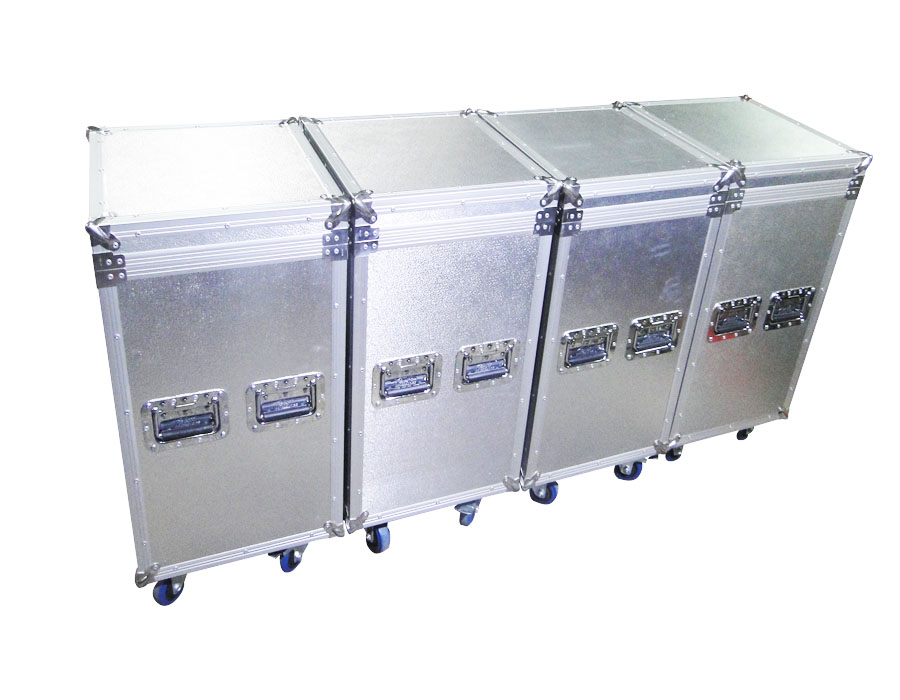 Aluminium moving head beam 300 flight case with wheels, Aluminium case with high quality