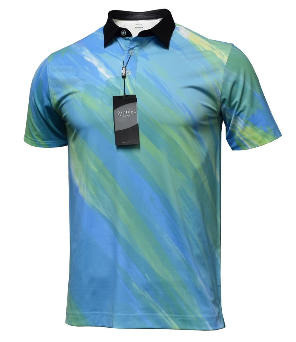 Custom OEM Design Polo Shirts T-Shirts Golf Shirt For Men Polyester Spandex