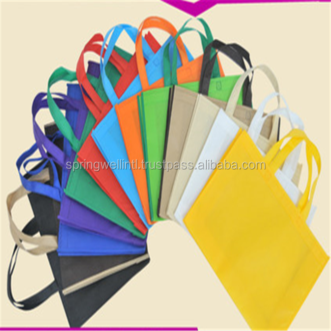 Top Quality Durable Reusable 100% New Polypropylene Material Non Woven Shopping Bag