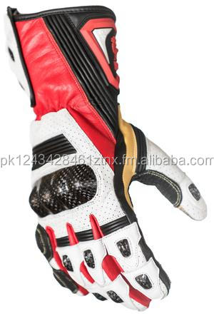 Advanced Touch screen technology Long Cuff Motorcycle Gloves