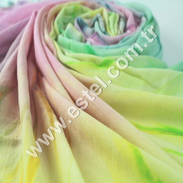 Colorful Tiedyed Turkish Cotton Towel From Factory Directly