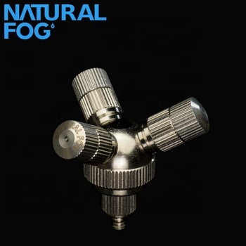 Taiwan Natural Fog High Pressure Mist Nozzle 1 to 3 Cluster