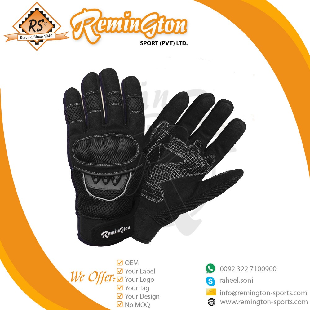 New MCG-06 customized Black motorbike Gloves Mountain Bike Gloves Road Racing Men/Women climbing Gloves