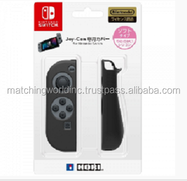 switch game accessory on SALE Black joy-con soft case