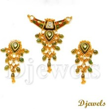Meenakari Kundan Necklace Set, kundan Necklace Set, Bridal jewelry