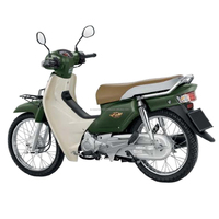 2017 Hondx DREAM SUPER CUB 12 Green Colour Scooter 100 CC Motorcycle