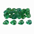 3.5x2.5x1.7 mm Natural Emerald Gemstone Faceted cut Pear 2.37 cts 24 pieces Precious Loose Gemstone