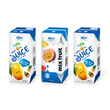 High Quality Tropical Juice  From RITA OEM Beverages Mix Fruit Juice