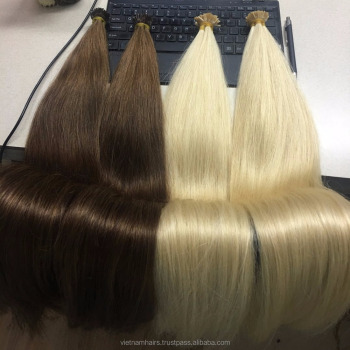 Vietnamese super double drawn straight U-tip, I-tip, V-tip hair extensions #60, #1b