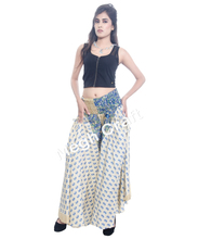Indian Vintage Silk Harem Pants Trouser - Wholesale Silk dance trousers - Belly Dance Trouser Skirt