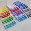 Cotton hand towel with fringe