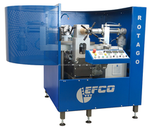 Stationary ball valve lapping machine for finishing ball valves - EFCO ROTAGO