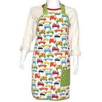 Cotton Kitchen Apron with 100% Cotton
