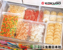 Japan LAMIZIP Safe & Reliable Plastic Dried / Frozen Food Packaging Bag with Zipper