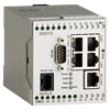 MoRoS ISDN Router, 4+1 Port-Switch, Firewall, IP-/Port Forwarding, Netmapping