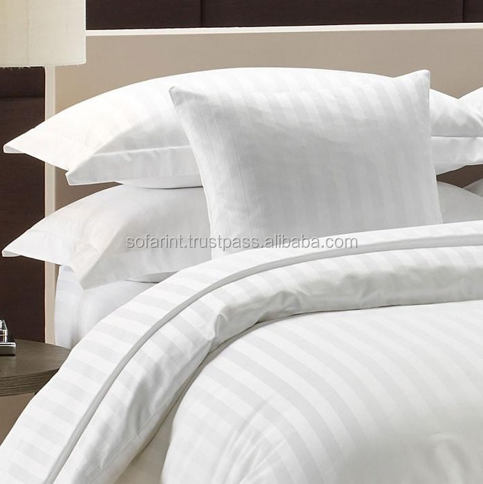 100% Cotton Bed Sheets/ White Hotel Bed Sheet/ Flat Bed Sheet