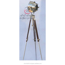 New Royal Marine Tripod Floor Lamp Nautical Search Light, Marine Tripod Lamp Home Deco