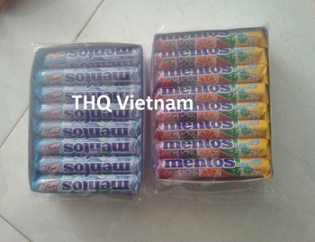 [THQ VN] Mentos candy roll/ 16 sticks/ Mentos chewing gum