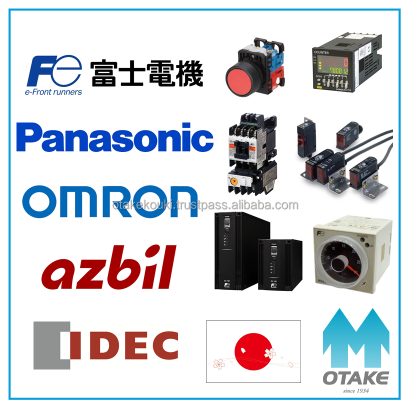 Durable magnetic switch (Fuji Electric, Panasonic, Omron, azbil, Idec)
