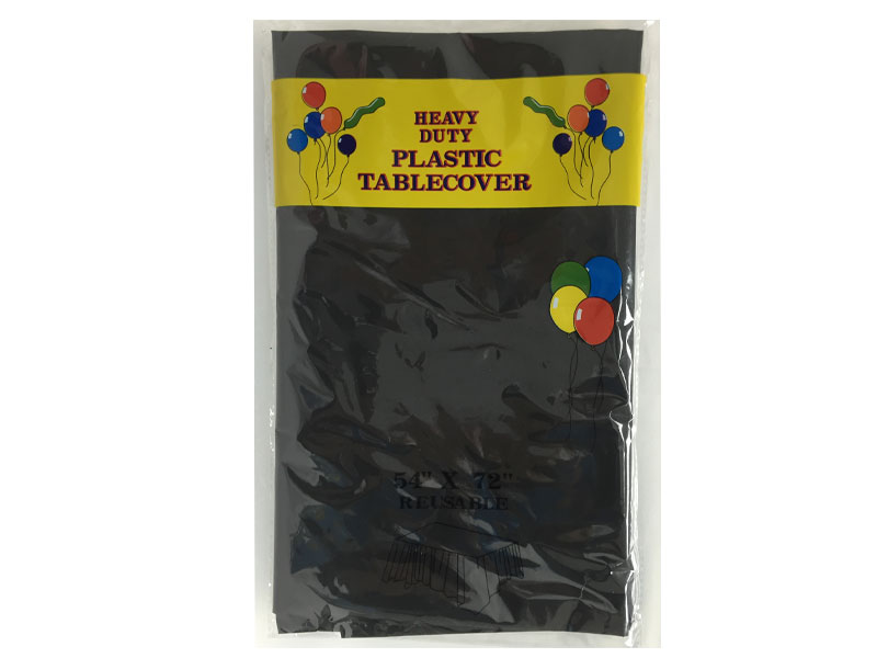 Table Cloth 54 x 72 Inch - Black