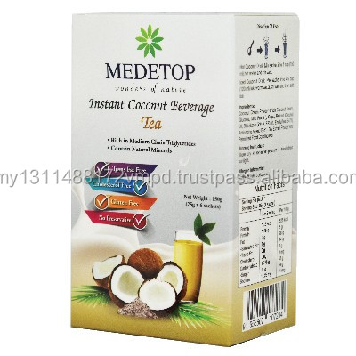 Healthy Instant Coconut Beverage TEA Powder Milk Energy Drink