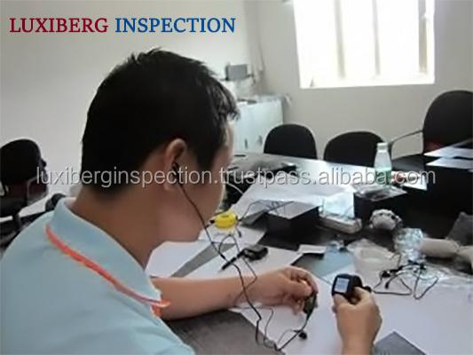 Smart Watch / Quartz Watch Quality Control in China / Fast & Reliable Third Party Inspection Services for Timepieces
