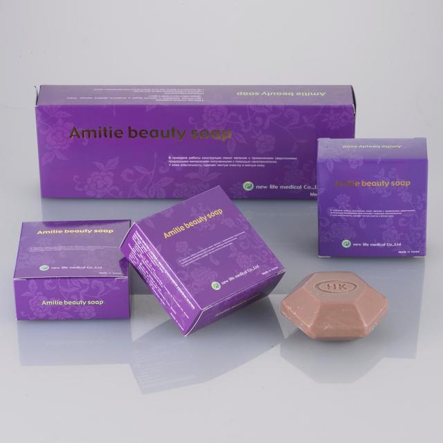 Korea Natural Functional Antibacterial Beauty Soap Bar Skin Body Facial Care Home Hotel Bath Moisturizing Clean Ceramic Minerals
