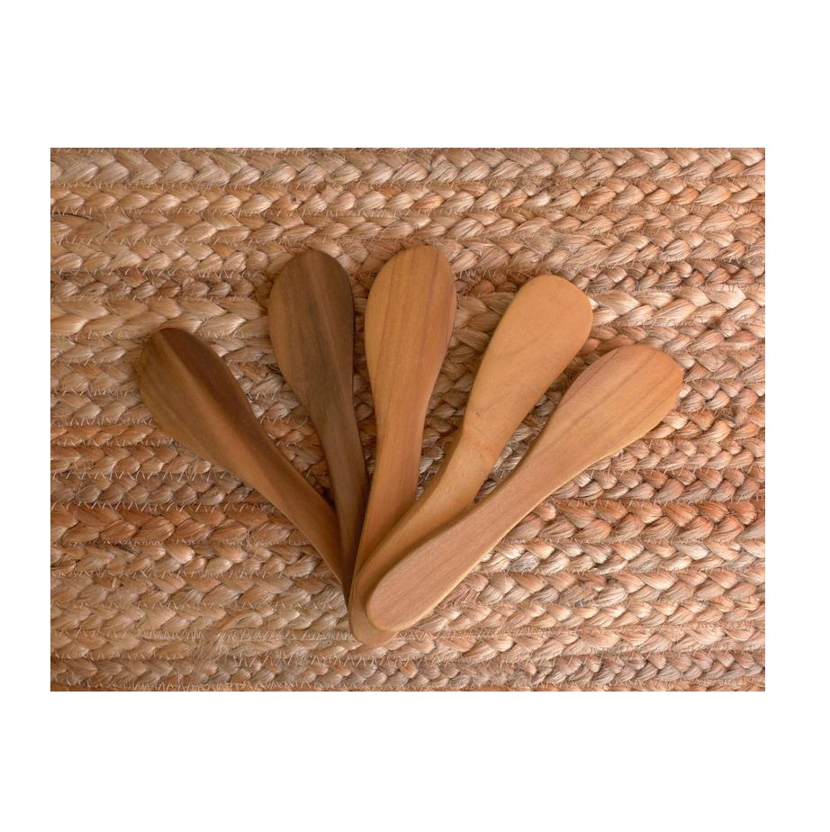 Butter Spreaders Cheese Spreader Wooden Knife Natural Wood