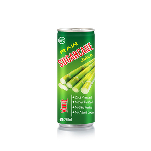 250 ml Raw fresh Sugarcane juice drink