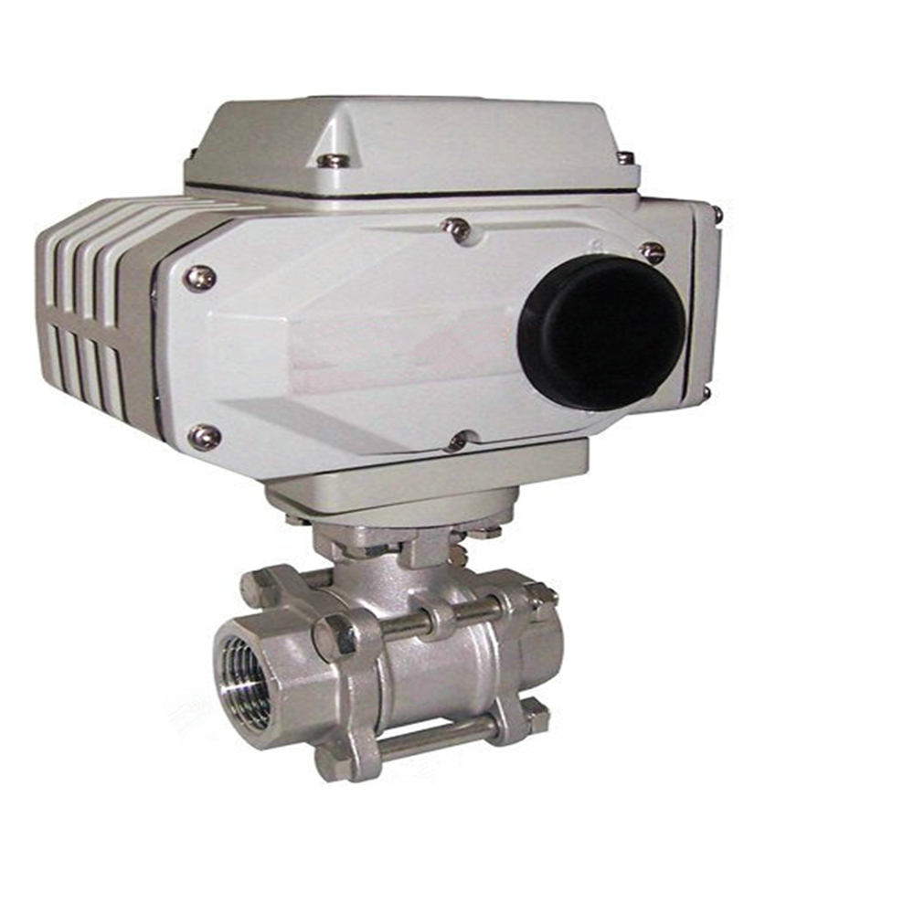 stainless steel 220v electric motor ball valve