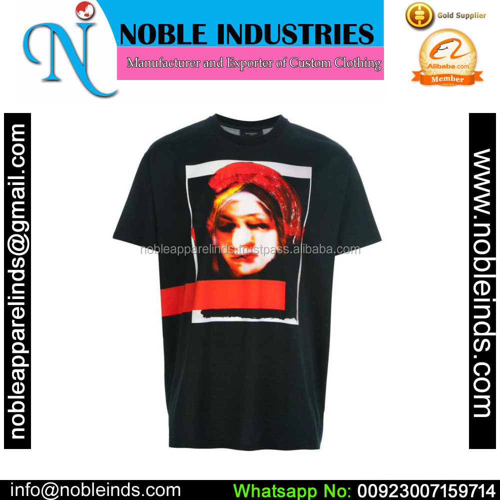 Pure cotton custom blank t shirt for your own design fast delivery sublimation