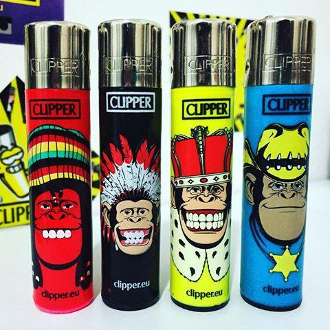 Whole Sale Cigarette Usage and Flint Style Original Clipper Lighters