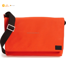 Most Popular Trendy Concise Style felt laptop bag, Business briefcase fashion felt notebook case In Orange Colour