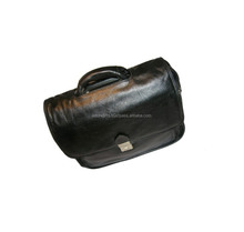 leather laptop carry cases bag / stylish design laptop bags 14.5 / messenger bags with laptop compartment