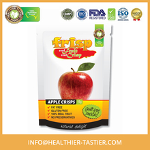 Australian Made Gluten Free Organic Apple Flavored Dried Fruit Chips