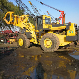 Good quality used KOMATSU 470 wheel loader for sale/ komatsu loader with low price