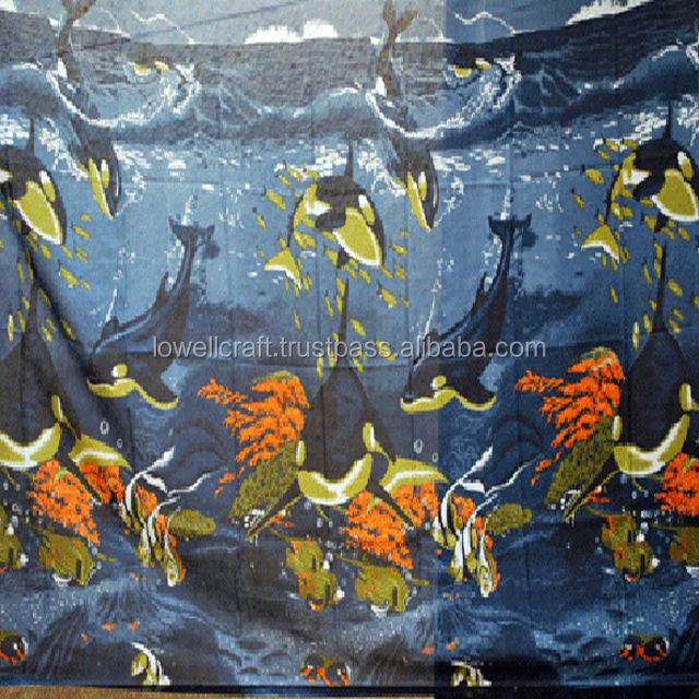 SEA PRINTED SARONG/BEACHWEAR/ PAREOS