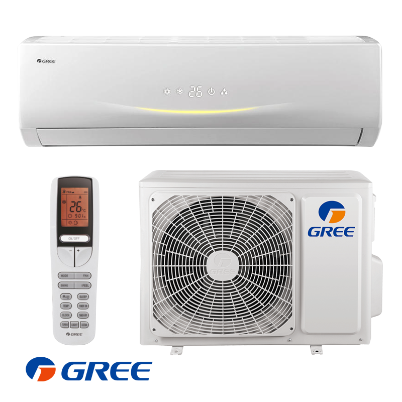 Inverter Air conditioner Gree Viola GWH24RD / K3DNA3C (Wi-Fi) with A+/A energy class of cooling / heating