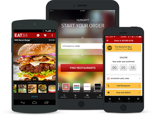 pizza delivery app development service in usa