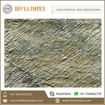 Split Surface Deoli Green Natural Slate Stone Veneer