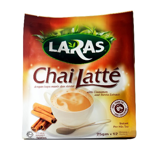 LARAS Chai Latte with Cinnamon & Stevia Extract