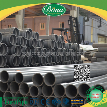 PVC PIPE hot sale in Middle East for drainage and irrigation