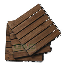 Floor Tile/ Outdoor Furniture, wood deck tiles for Balcony/Garden/Waywalk/Beach