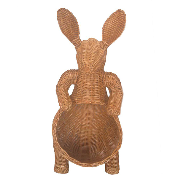Handcrafted Rattan Custom Design Storage Decorative Kangaroo