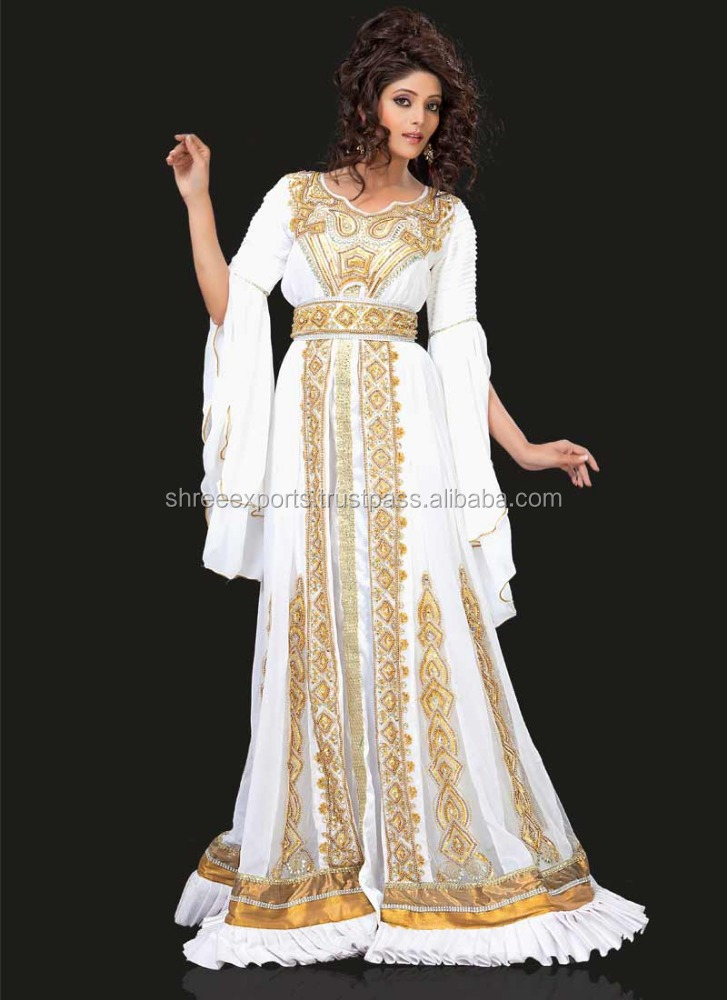 Beautiful White Kaftans At Wholesale Price / Moroccan Kaftans Buy Online / Kaftan Morocco